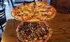 Newaygo Brewing Company - Creston: Two Pizzas at Newaygo Brewing Company (Up to 50% Off)