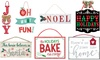 Assorted Holiday Christmas Decor Signs