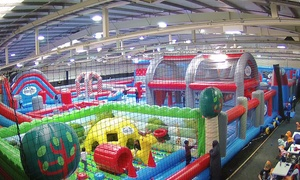 Inflatable Zone Birmingham: 60-, 90- or 120-Minute Inflatable Bounce Session at Inflatable Zone Birmingham (Up to 40% Off)