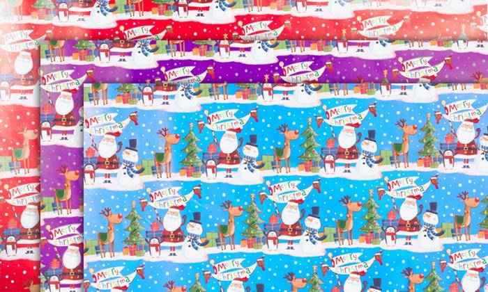 Papier Cadeau Noël Pour Enfant Groupon