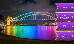 Sea Sydney Harbour: 90-Minute BYO Vivid Festival Cruise with Food - Child ($24) or Adult ($29) with Sea Sydney Harbour (Up to $39 Value)
