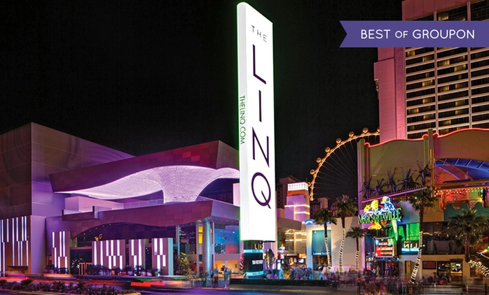 Stay with Dining Credit at The LINQ Hotel and Casino in Las Vegas. Dates into August.