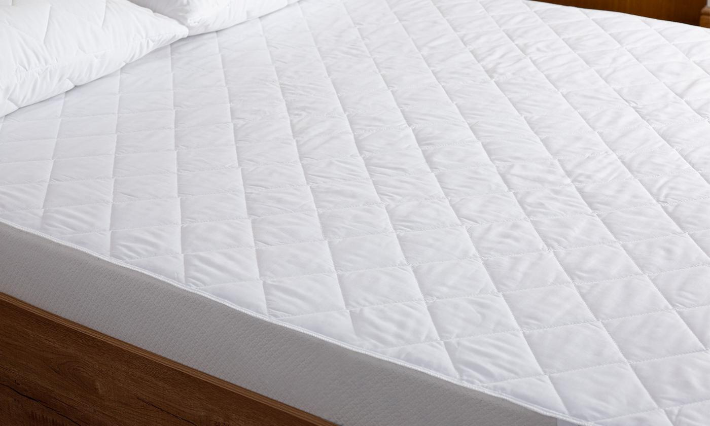 Soft-Touch Quilted Mattress Protector in Choice of Size