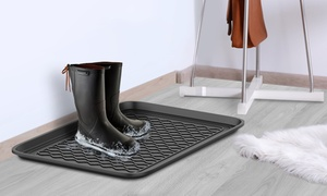 Stalwart All-Weather Utility Boot Tray Set (2-Piece)