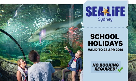 SEA LIFE Sydney: Child Aged 4-15 ($29.70) or Adult ($41.40) Entry, Darling Harbour (Up to $46 Value*)
