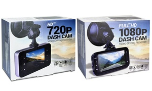 1080p or 720p Dash Cam at 1080p or 720p Dash Cam, plus 6.0% Cash Back from Ebates.