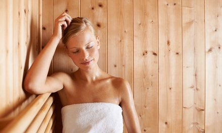 5 or 10 Infrared Sauna Sessions at Massage Green Spa (Up to 77% Off). Four Options Available.