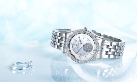 One or Two Timothy Stone Huston Watches with Crystals from Swarovski® With Free Delivery