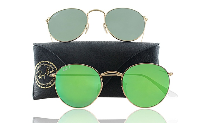 Rayban Round Sunglasses  ray ban round sunglasses groupon goods