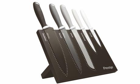 Prestige Six-Piece Magnetic Knife Block Set