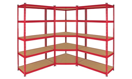 Monster ZRax Garage Rack from £34.99 or Corner Unit from £59.99