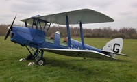 45-Minute Tiger Moth Vintage Flying Experience at Vintage Flying (55% Off)