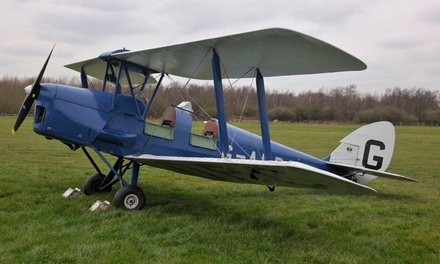 45Minute Tiger Moth Vintage Flying Experience at Vintage Flying