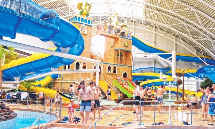 Schwapp - Fürstenwalde/Spree: Tageskarte für das Spaßbad und die Saunalandschaft im Schwimm- und Wasserparadies Schwapp (48% sparen*)
