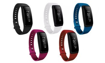 Fitness Activity Tracker with Blood Pressure and Heart Rate Monitor