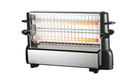 Tostador vertical adaptable a cualquier tipo de pan Oferta en Groupon