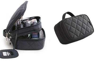 Two Layer Cosmetic Organiser with Mirror: One ($12.95) or Two ($19.95)