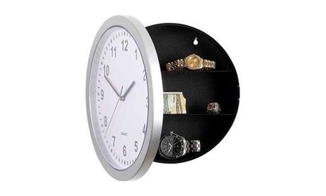 1 o 2 orologi da parete con portaoggetti segreto