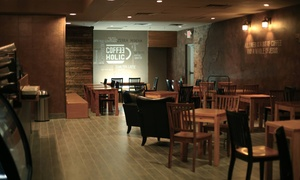 Coffee Holic: Coffee at Coffee Holic (40% Off)