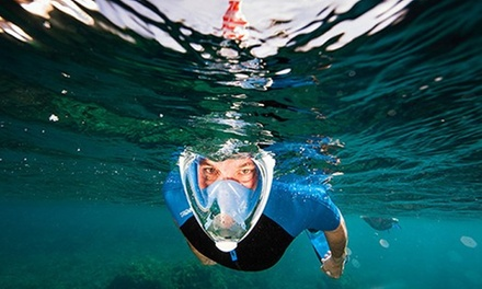 FreeBreather Full-Face Snorkel Mask