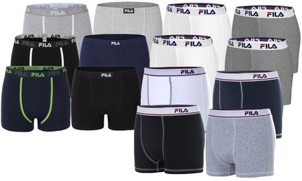 Lot de boxers de la marque Fila