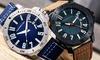 Morphic Men's Leather Watch