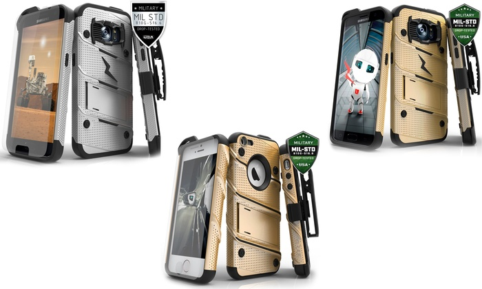 sports shoes d90cf 66be2 Zizo Bolt Cases for iPhone 5/5S and Galaxy S7/S7 Edge | Groupon