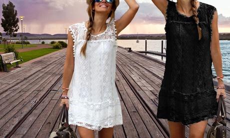 1, 2 ou 4 robes Lou de la marque Balotti, en dentelle, légère et glamour