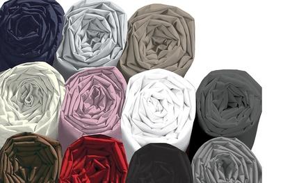 Drap housse 100% coton, plusieurs tailles disponibles