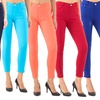 Women's Junior Stretchy Basic 5-Pocket Jeggings