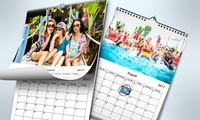 Up to Five Personalised Wall Calendars from Printerpix (Up to 78% Off)