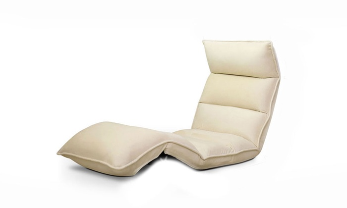 Adjustable floor lounge chair groupon goods for 100 floors valentines floor 9