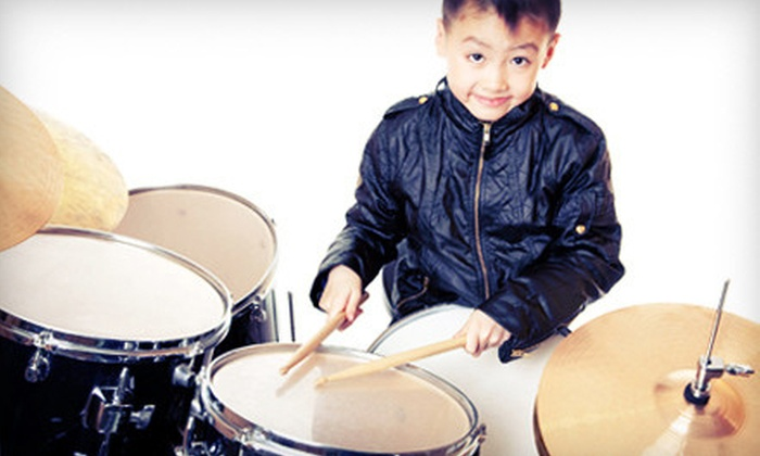 Donn Bennett Drum Studio - Bel-Red: Four or Eight Weeks of Drum Lessons or Eight Sessions of Rock Band Camp at Donn Bennett Drum Studio (Up to 53% Off)