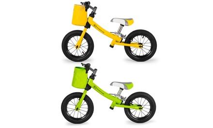 Draisienne KinderKraft Novi en acier, pneus gonflables, accessoires inclus