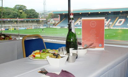 image for VIP Meal and Match to Choice of Rochdale AFC Fixture (Up to 47% Off)