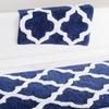 Lavish Home 100% Cotton Trellis Bath Mat Set (2-Piece)