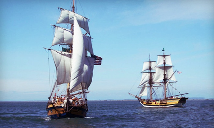 Save the Bay - Newport: $60 for a Boat Cruise for Two During the Newport Tall Ships Festival from Save the Bay ($120 Value). 11 Times Available.