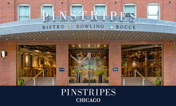 Up to 40% Off Bowling or Bocce at Pinstripes Chicago