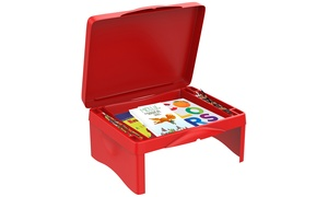 Hey! Play! Kids' Folding Lap Desk with Storage