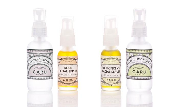 Holistic Toner and Serum from Caru Skincare Co: 29% Off Organic Toner and Serum Set from Caru Skincare