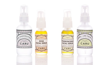 29% Off Organic Toner and Serum Set from Caru Skincare