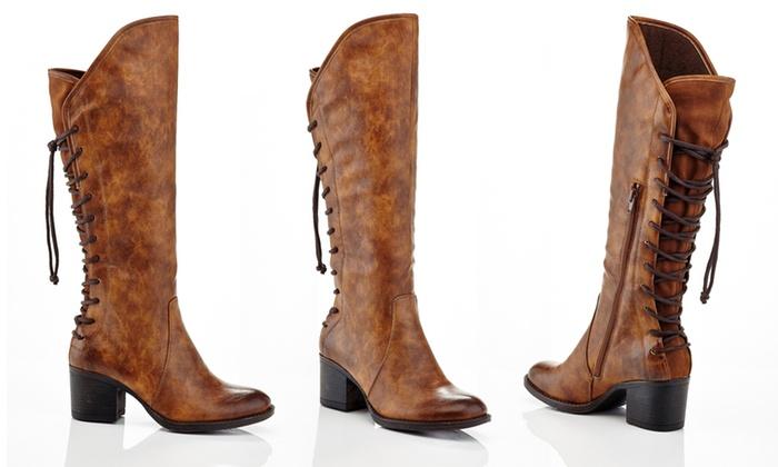 a9c0fd2c2ba Eddie Marc Women s Knee-High Western Tassel Boots (Size 11)