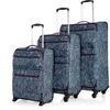 Revelation Weightless Lightweight Spinner Luggage Set (3-Piece)