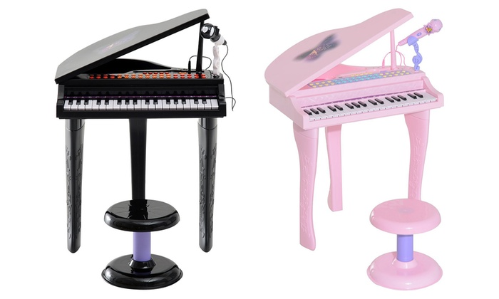 Groupon Goods: Kids' Mini Keyboard with Stool (Shipping Included)