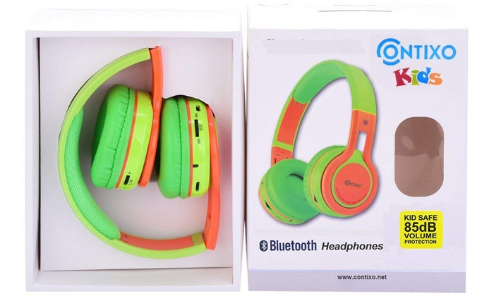 Up To 62 Off On Kids Bt Wireless Headphones Groupon Goods