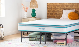 "LinenSpa 8"" Memory Foam and Innerspring Hybrid Mattress"