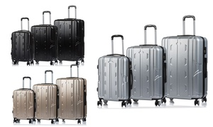 Explorer Hard-Sided Spinner Luggage Set (3-Piece)