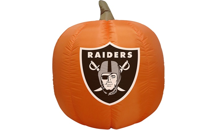 Nfl ft inflatable led pumpkin with tethers and stakes