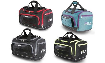 af93dd61a6ee Up To 38% Off on Fila Cypress Small Duffel Bag