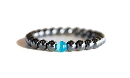 Bracelets bleuet hématite
